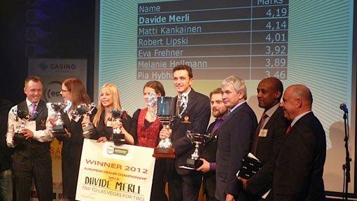 Davide Merli Campione Europeo
